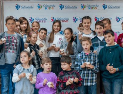 Кулинарный мастер-класс от финалистки детского МастерШефа Украина – Е. Сливинской