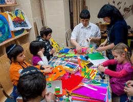 Семейный клуб - Урок Арт-иудаики