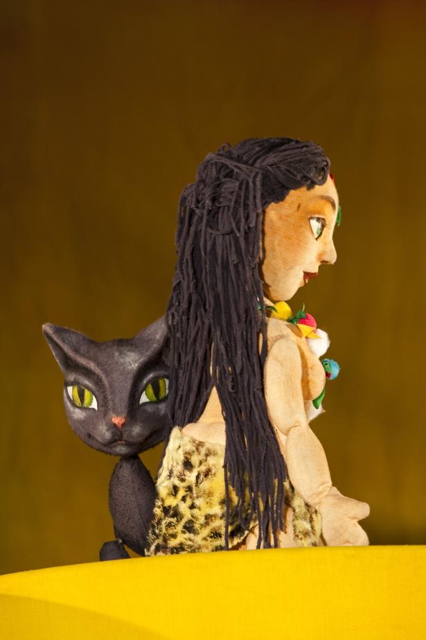 Спектакль для детей интерната -  «Кошка, которая гуляет сама по себе»