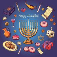Праздник Ханука в семейной службе JFS